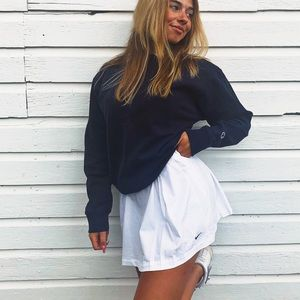 WHITE NIKE TENNIS SKIRT
